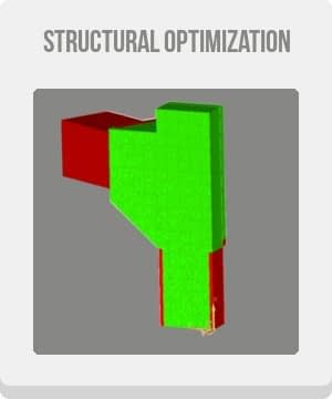cae simulation topology optimization cae computer aided engineering button