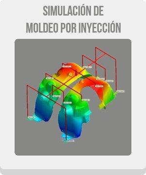 cae simulación moldflow cae botón de ingeniería asistida por ordenador