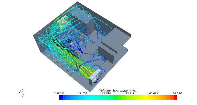 Cálculo del CfD, simulación del CfD, simulación de flujo numérico, análisis electrónico del CfD.